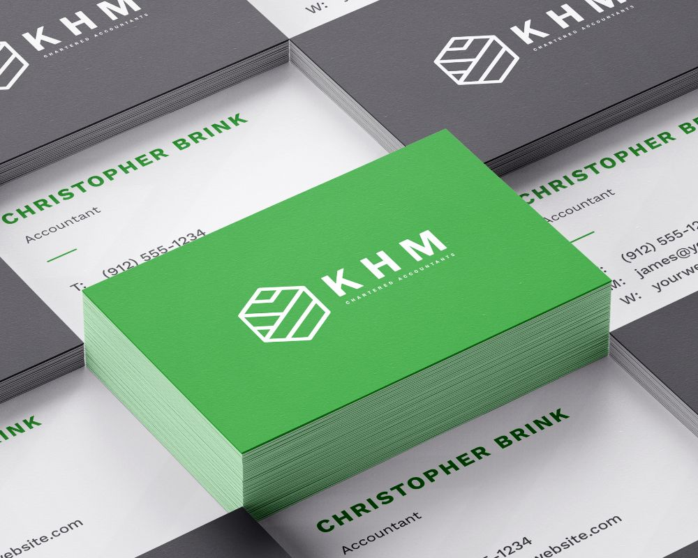 Picture of KHM Business card